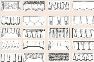 styles of valances 300x198 - Styles Of Valances