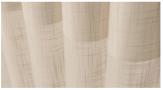 Sheer Linen - For a smartly tailored, linen appearance.