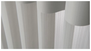 Stria - A light and sophisticated touch with clean and crisp lines.