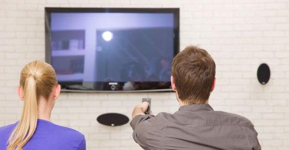 television-glare